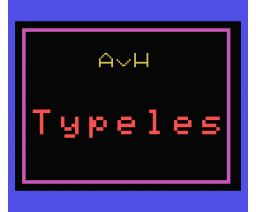 Type Cursus (1985, MSX, SoftWorld)