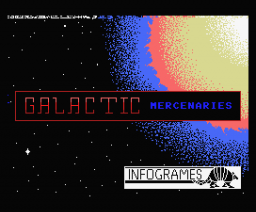 Galactic Mercenaries (1985, MSX, AA Software)