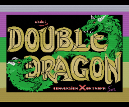 Double Dragon (1988, MSX, Melbourne House, American Technos)