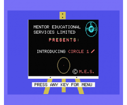 The Circle I (1984, MSX, Mentor Educational Services Ltd.)