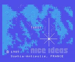 Tarot (1985, MSX, Nice Ideas)