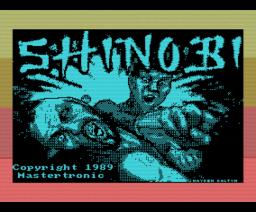 Shinobi (1989, MSX, Mastertronic)