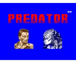 Predator (1988, MSX2, Pack-In-Video)