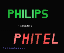 Phitel (1987, MSX, Philips France)