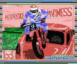 Motorbike Madness (1988, MSX, Mastertronic)