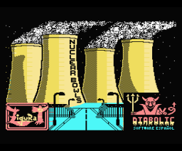 Nuclear Bowls (1986, MSX, Diabolic)