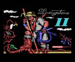Livingstone II (1989, MSX, Opera Soft)