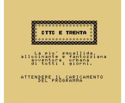 Otto e Trenta (1985, MSX, Melchioni Informatica)