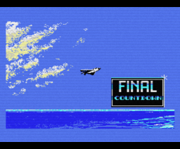 Final Countdown (1988, MSX, Methodic Solutions)