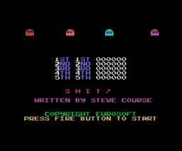 Shit! (1988, MSX, Eurosoft)