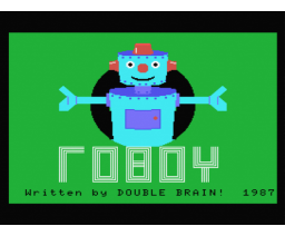Roboy (1987, MSX, Double Brain!)