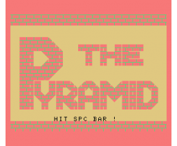 The Pyramid (1983, MSX, Central education)