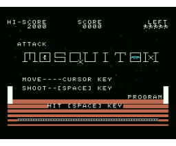 Attack of Mosquiton (1986, MSX, Shouji Ogawa)