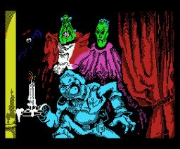 Vampire (1986, MSX, Dinamic)