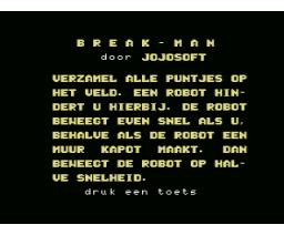 Break (1986, MSX, Jojosoft)