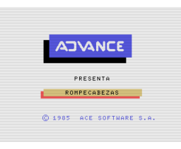 Rompecabezas (1985, MSX, Ace Software S.A.)