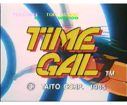 Time Gal (1986, MSX, TAITO)