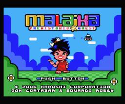 Malaika Prehistoric Quest (2006, MSX, Karoshi)