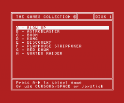 The Games Collection (1988, MSX, MSX2, Eurosoft)