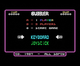 Bubbler (1987, MSX, Ultimate Play The Game)