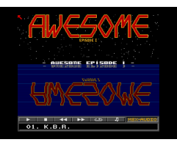 Awesome Episode I (1991, MSX2, Moonsoft)