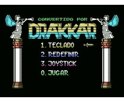 Drakkar (1990, MSX, Diabolic)
