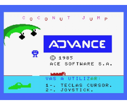 Coconut Jump (1985, MSX, Ace Software S.A.)