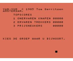 Yab-Yum (1985, MSX, Tom Gerritsen)