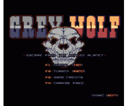Grey Wolf (2017, MSX2, Oniric Factor)