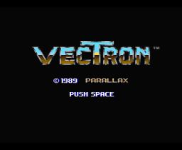Vectron (1989, MSX2, Parallax)