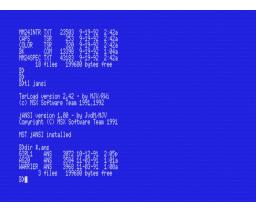 jANSI (1992, MSX2, MST)