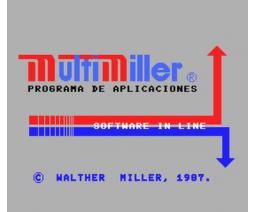 Multimiller (1987, MSX, Walther Miller)