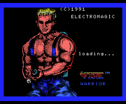 Fire Warrior (1991, MSX, Electromagic)