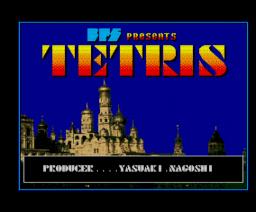 Tetris (1988, MSX2, BPS)