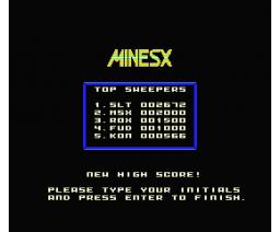 MineSX (2010, MSX, ICON Games)