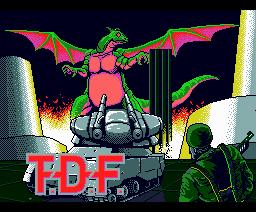 T.D.F. (1988, MSX2, Data West)