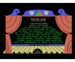Master Mind (1985, MSX, Indescomp)