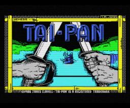 Tai-Pan (1986, MSX, Ocean)