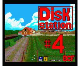 BCF Disk Station #4 (1991, MSX2, MSX2+, Turbo-R, BCF)