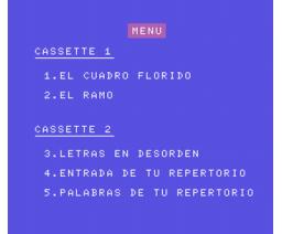 Selva de Letras (1985, MSX, Anaya Multimedia, Vifi International)