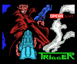 Trigger (Gunstick version) (1989, MSX, Opera Soft)