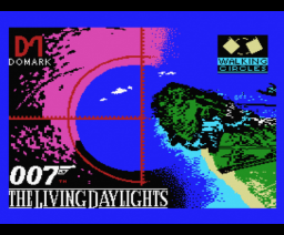 The Living Daylights (1987, MSX, Walking Circles Software)