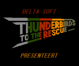 Thunderbirds to the Rescue (2010, MSX2, Delta Soft)
