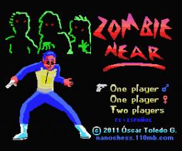 Zombie Near (2010, MSX, Óscar Toledo Gutiérrez)