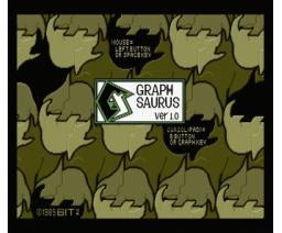 Graph Saurus Graphic Tool Ver.1.0 (1989, MSX2, MSX2+, Bit²)