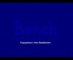 VideoBench (1991, MSX2, NewVision)