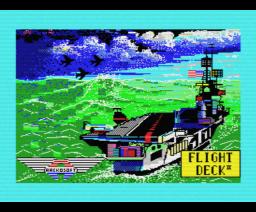 Flight Deck II (1986, MSX, Aackosoft)