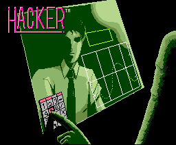 Hacker (1988, MSX2, Pony Canyon, Activision)