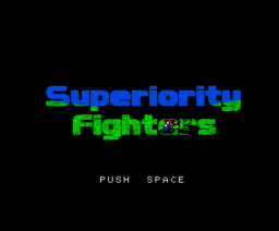 Superiority Fighters (1994, Turbo-R, Mushroom)