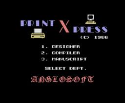 Print-X-Press (1986, MSX, Anglosoft)